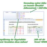 Excel Wenn Dann in mehreren Zeilen